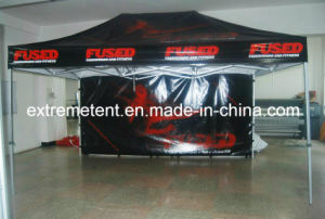 Full Color Dye Sublimation Printed Quick Folding Tent