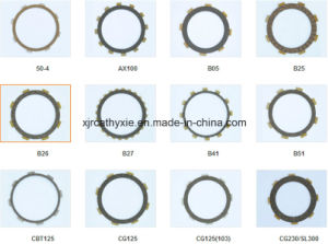 High Quality Clutch Plate /Clutch Friction for Motorcycle Parts