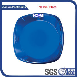 Disposable 9inches Plastic Plate for Food pictures & photos