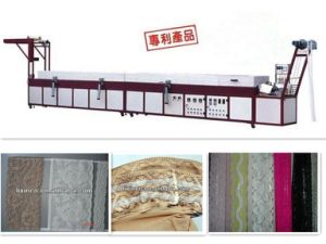 High Quality Automatic Silicone Lace Coating Machine pictures & photos