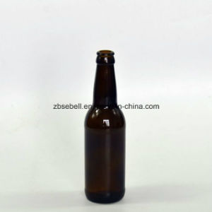 330ml (33cl) Amber Color Glass Beer Bottle pictures & photos