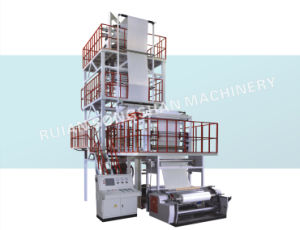 Advanced 3 Layer Film Blowing Machine pictures & photos
