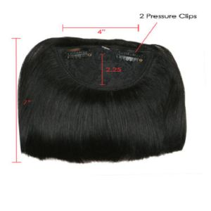 100% Indian Remy Human Hair Fringe