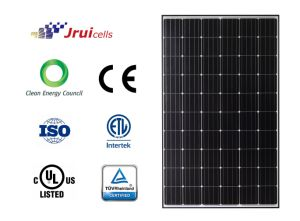 Long-Term Durability Anodized Black Aluminum Frame Mono 270W Solar Panel