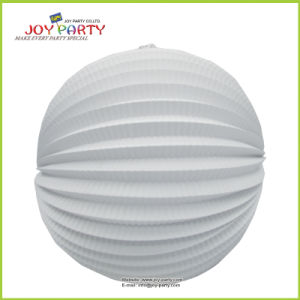 White Watermelon Paper Lantern for Wedding Home Decoration