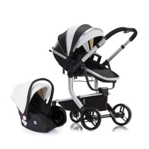 En 1888 Approved High Landscape Baby Stroller 3 in 1 with Car Seat