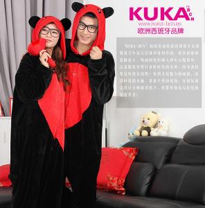 b9863aa746 China Kuka Cartoon Heart Bear Onesie Cosplay Costume Couple Pajamas - China  Cartoon