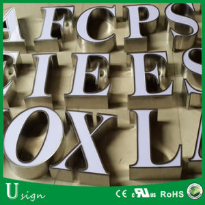 Top Quality Outdoor Used Metal and Acrylic Channel Letter for Advertising
