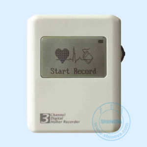 3-CH Mini Recorder Holter With LCD (MiniHolter) pictures & photos