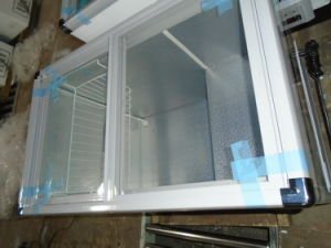 Flat Glass Door Freezer (SDSC-300) pictures & photos