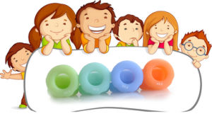 Food Grade Kids Grip Exerciser (MQ-KGE01) pictures & photos