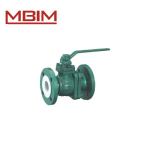 Plastic Lined Ball Valve (DN15-DN400) pictures & photos