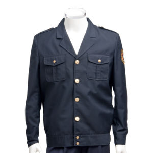 Dignified Jacket Design Security Uniform for Men Sc-04 pictures & photos