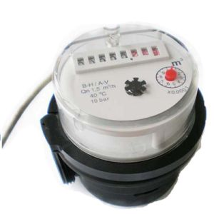 AMR Water Meter/Pulse Output Function Water Meter/Single Jet Plastic Water Meter pictures & photos
