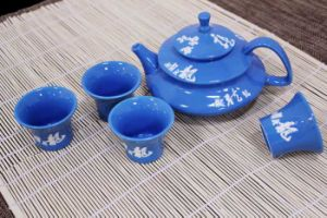 Bone China Tableware Ceramic Teapot Gift Set (CC-TP29B)