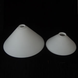 China matte white sandblasted italian glass opal lamp shade matte white sandblasted italian glass opal lamp shade industrial style cone foe pendant light hanging glass aloadofball Image collections