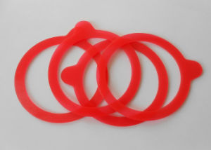 Food Grade Translucent Silicone Weck Ring, Silicone Weck Gasket, Silicone Weck Seal with Postcure Without Smell pictures & photos