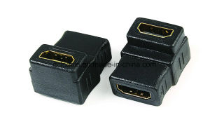 90 Degree HDMI Female to Female Adapter