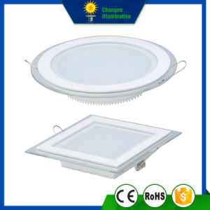 12W Glass Square LED Panel Downlight