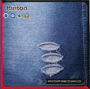 Soft Blue Jeans Shirts Knitting Denim Fabric pictures & photos