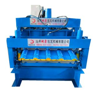 Cheap Good Quality Aluminum Sheet Metal Roofing Shingles Tile Roll Forming Machine for Sale, Steel Tile Roll Forming Machine