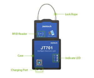 Padlock with GPS with Wireless Temperature Sensors to Guard Your Refrigerated Truck pictures & photos