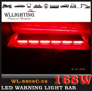 Low Profile Super Bright Red LED Lightbar