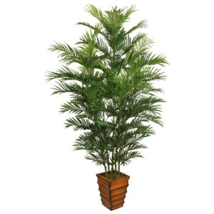 china artificial mini palm plants with plastic pot in 220cm height
