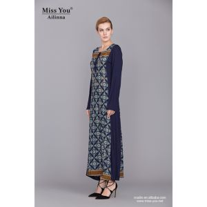 Miss You Ailinna 790251 Women Latest Design Muslim Dress pictures & photos