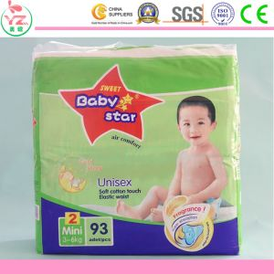 Hot Sale Soft Disposable Baby Diaper Make in China