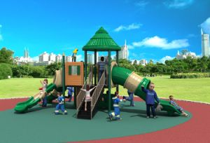 2017 New High-Quality Outdoor Playground Equipment Slide (HD17-014A) pictures & photos
