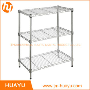 70lx30wx70h Display Shelving with Chrome Finish for Store Home Use pictures & photos
