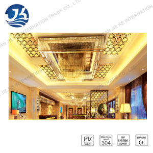 Decorative Embossed Color Stainless Steel Suspended Ceiling
