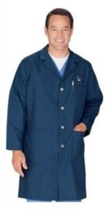 Cotton /Polyester White Lab Coat (A619)