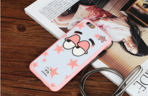 Patrick Star Cartoon TPU Mobile Phone Case for iPhone