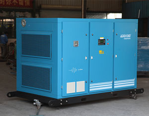 Oil Fooled Rotary Screw Belt Driven Electric Air Compressor (KB22-10) pictures & photos
