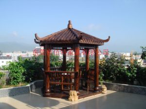 Astounding Outdoor Wooden Pavilion Garden Wooden Gazebo Download Free Architecture Designs Embacsunscenecom