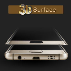 Heat Bending Toughened Glass Guard for Samsung S7 / S7 Edge From Professional Manufacture