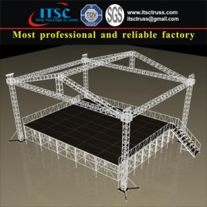 4 Tower Struture 40X30 FT Economic Pyramid Roof Truss System