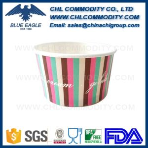 Single Layer Paper Bowl for Fast Food with PP Lid