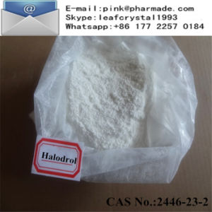 USP Halodrol Prohormone Obvious Muscle Gain Raw Powder pictures & photos