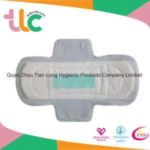 Hot Selling Female Disposable Cotton Sanitary Napkins in Bulk
