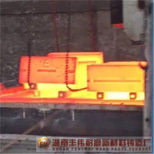 High Chrome Iron Impact Crusher Wear Part, Impact Plate, Blow Bar