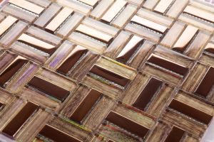 Foshan New Arrival Interior Glass Mosaic Tile for Home Decoration (XZP1706) pictures & photos