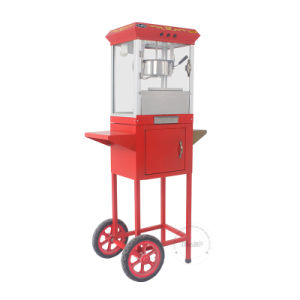 Hot Sale Popcorn Machine with Car in Red Eb-05c