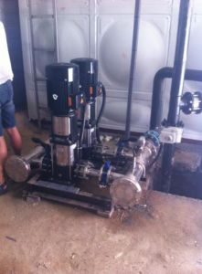 Water Pressure Boosting Pump