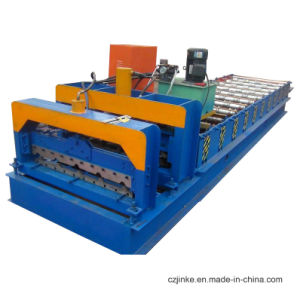 Currogated Tile /Glazed Tile Roofing Cold Roll Forming Machine Made in China pictures & photos