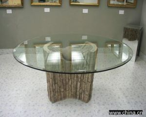 Tempered Glass Coffee Table pictures & photos