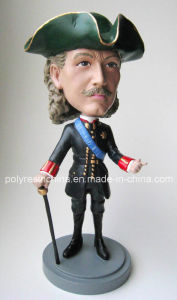 Polyresin Talking Bobblehead with Good Quality Finish pictures & photos