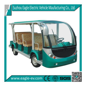 Electric Zoo Shuttle Bus, 11 Seats, Eg6118kb, CE Approved pictures & photos